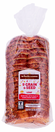 Wholesome Harvest 9-Grain & Seed Loaf Perspective: front