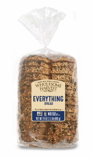 Wholesome Harvest Everything Sandwich Bread Perspective: front