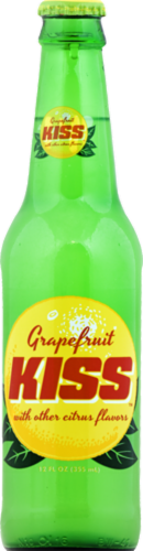 Kiss Grapefruit Soda Perspective: front
