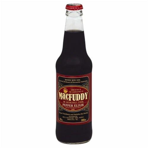 MacFuddy Pepper Elixir Soda Perspective: front