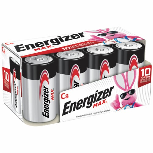 Energizer® Max® C Alkaline Batteries Perspective: front