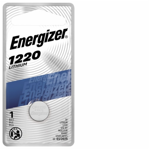 Energizer® 1220 Watch Battery Perspective: front