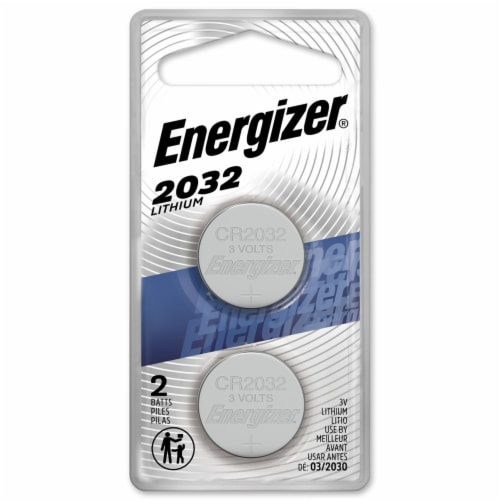 Energizer® 2032 3-Volt Lithium Coin Battery Perspective: front