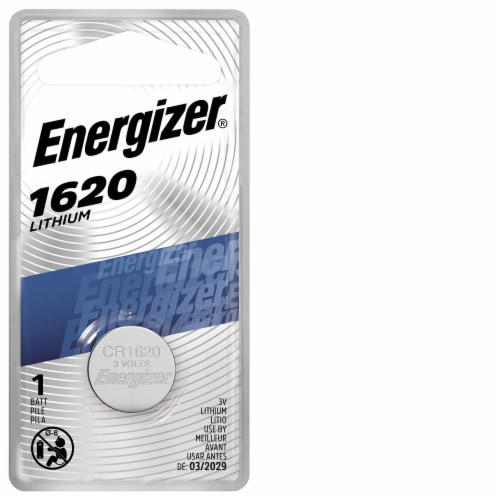 Energizer® 3-Volt 1620 Lithium Coin Battery Perspective: front