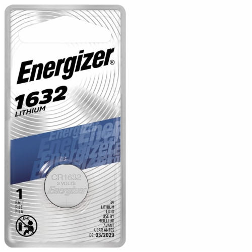 Energizer® 3-Volt 1632 Lithium Coin Battery Perspective: front