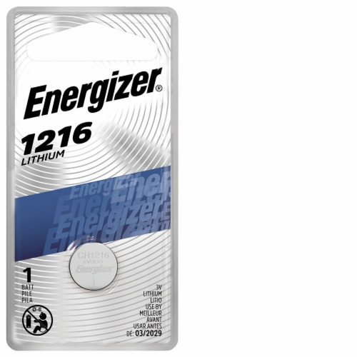 Energizer® 3-Volt 1216 Lithium Coin Battery Perspective: front