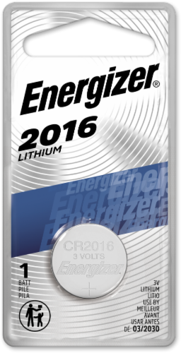 Energizer® 2016 Lithium Coin Battery Perspective: front