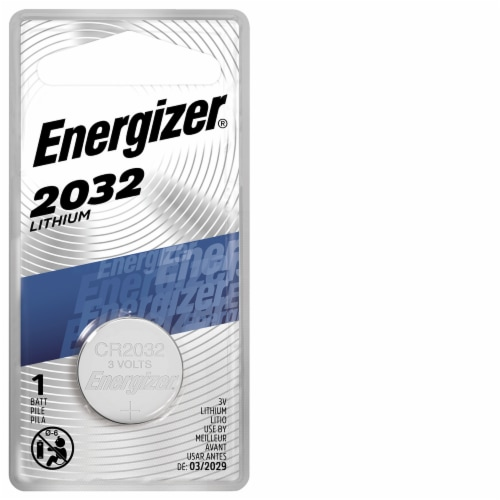 Energizer® 3-Volt Lithium Coin Battery Perspective: front