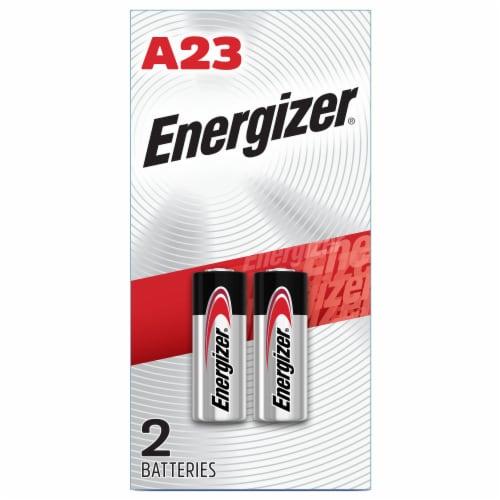 Energizer® 12-Volt A23 Alkaline Batteries Perspective: front