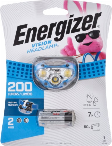Energizer Vision LED Headlight - Blue Perspective: front