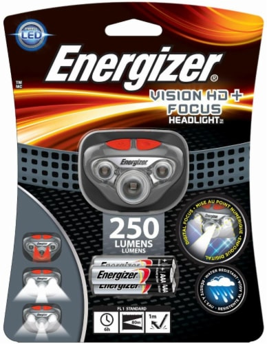 Energizer® Vision HD+LED Headlight Perspective: front