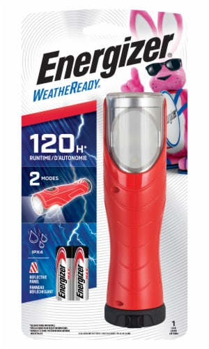 Energizer WeatheReady All-in-One LED Light - Red Perspective: front