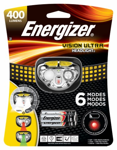 Energizer® Vision Ultra LED Headlight Perspective: front
