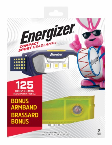Energizer® Compact Sport Headlamp Perspective: front