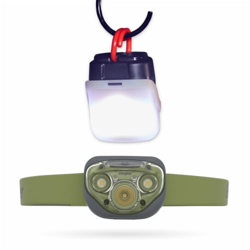 Energizer® Vision HD & LED Headlamp and Lantern Case Perspective: front
