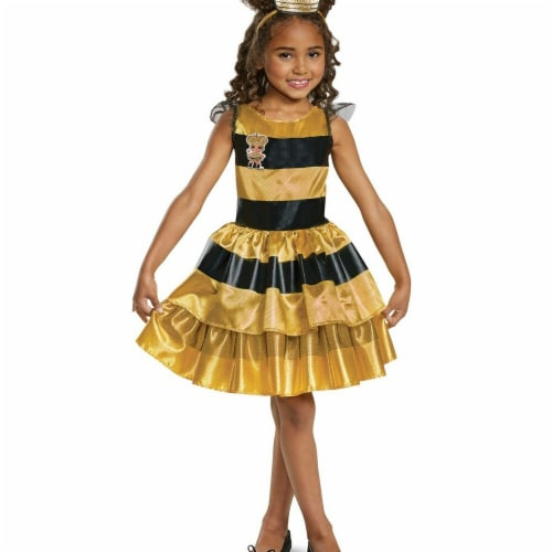Disguise 276033 Halloween L.O.L Dolls Queen Bee Classic Child Costume - Small Perspective: front