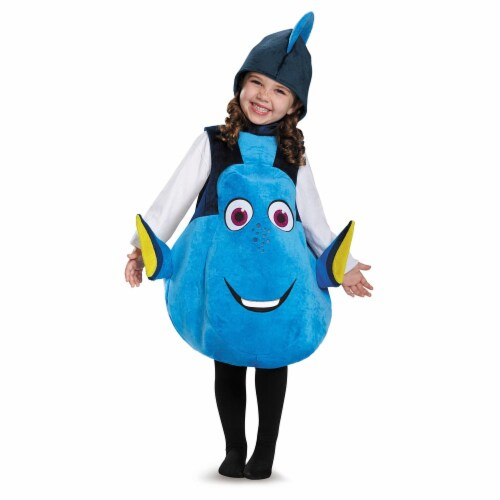 Dory Toddler Deluxe Costume One Size Child Perspective: front