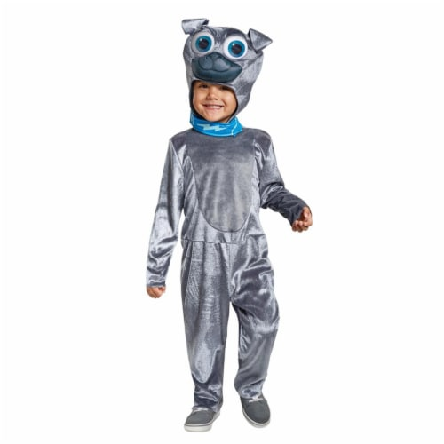 Disguise Bingo Classic Toddler Child Costume, Gray, (Size Large 4-6) Perspective: front