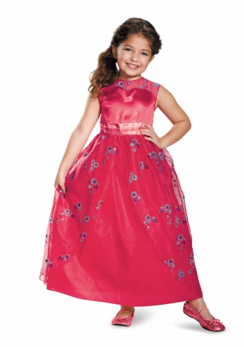 Disguise Elena Ball Gown Classic Elena of Avalor Disney Child's Costume - Size 7/8 Perspective: front