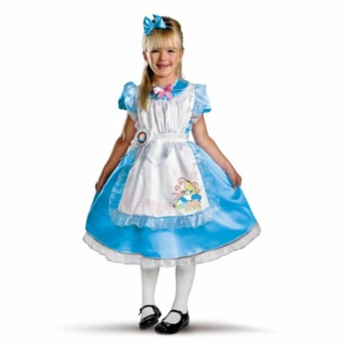 Costumes For All Occasions DG11384M Alice Deluxe Child 3T-4T Perspective: front