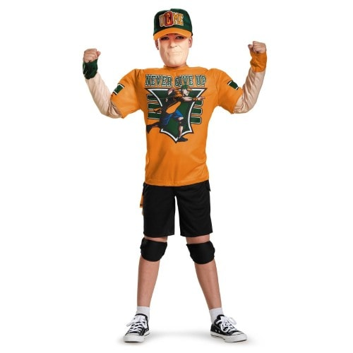 John Cena Classic Muscle Costume L (10-12) Perspective: front