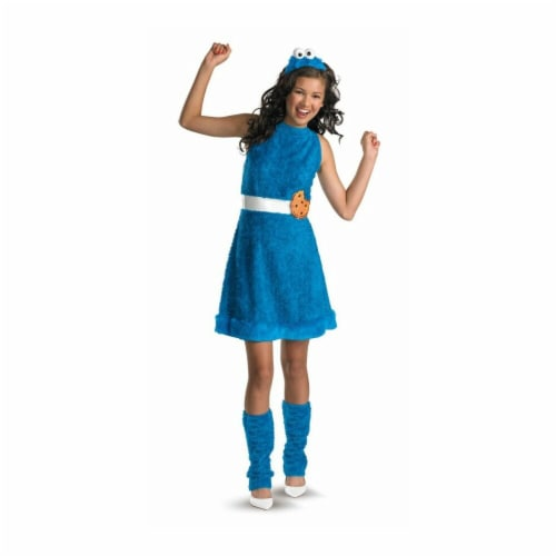Costumes For All Occasions Dg11482J Cookie Monster Teen 14-16 Perspective: front