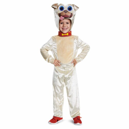 Disguise Rolly Classic Toddler Child Costume, Brown, (Size Medium 3T-4T) Perspective: front