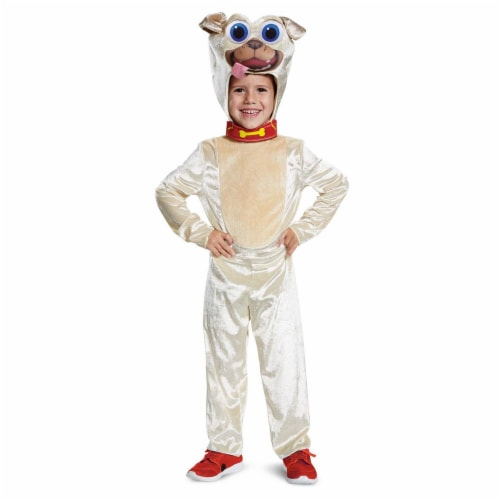 Disguise Rolly Classic Toddler Child Costume, Brown, Large/(4-6) Perspective: front