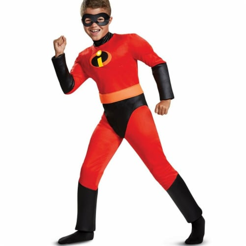Disguise 275985 Halloween Incredibles 2 Dash Classic Muscle Child Costume - Large Perspective: front