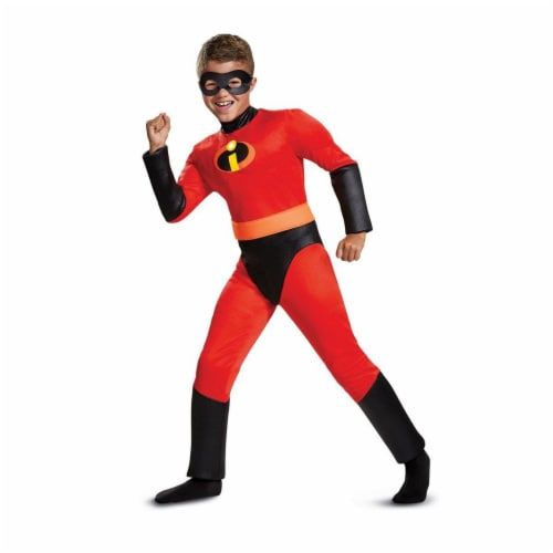 Disguise 275986 Halloween Incredibles 2 Dash Classic Muscle Child Costume - Small Perspective: front