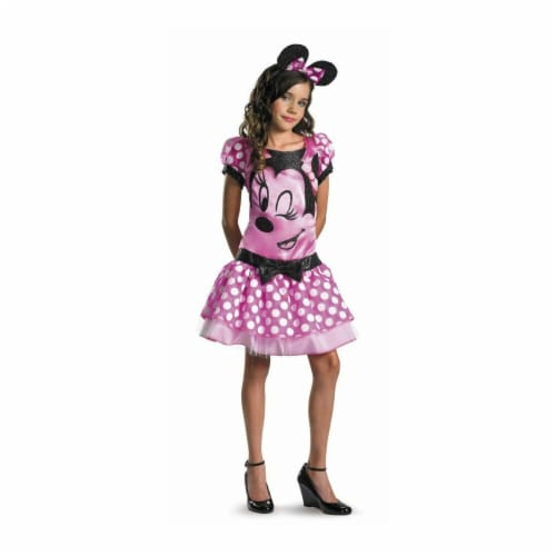 Costumes For All Occasions DG11399J Minnie Mouse Child 14-16 - Pink Perspective: front