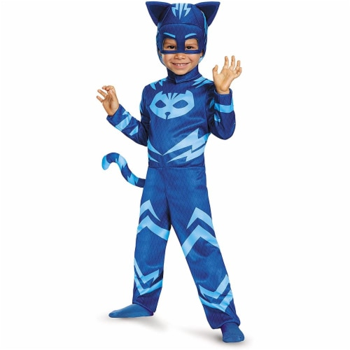 Catboy Classic Toddler PJ Masks Costume, Small/2T Perspective: front