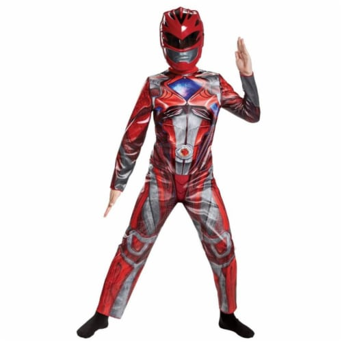 Morris DG18972L 2017 Red Ranger Classic Child Costume - 4-6 Perspective: front