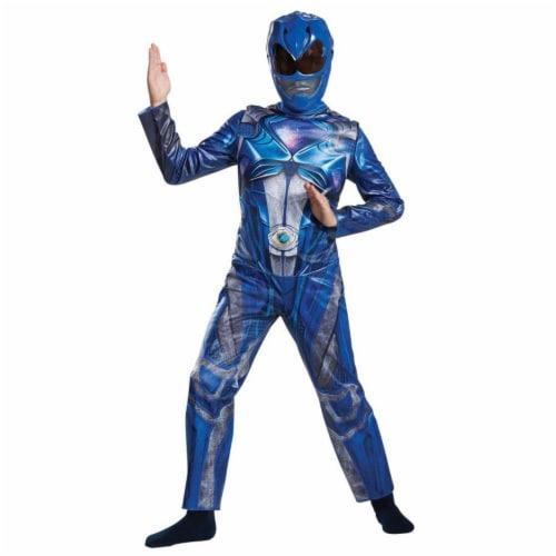 Morris DG18975K 2017 Blue Ranger Classic Child Costume - 7-8 Perspective: front