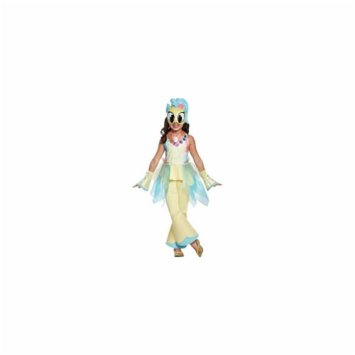 Disguise 249046 My Little Pony Princeess Skystar Movie Deluxe Costume - Yellow, Extra Small Perspective: front