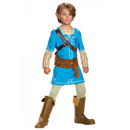Disguise DG22866G Boys Link Breath Of The Wild Deluxe Costume - Large 10-12 Perspective: front