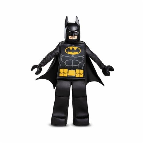 Disguise 247869 Batman Lego Movie Prestige Child Costume - Black, Medium Perspective: front