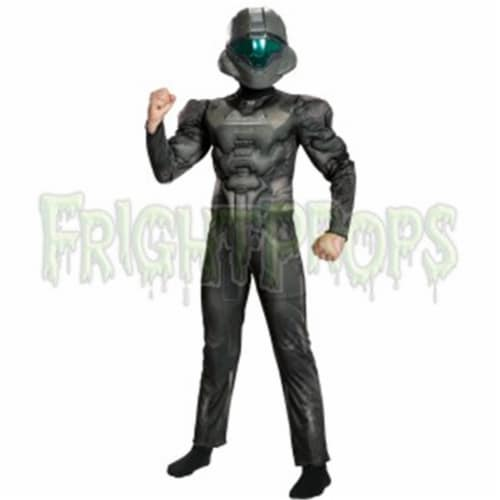 Morris DG24396G Spartan Buck Muscle Child Costume, Size 12-14 Perspective: front