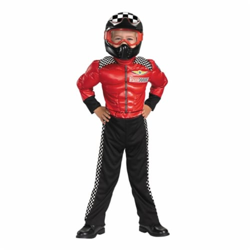 Costumes For All Occasions DG24872S Turbo Racer 2T Perspective: front