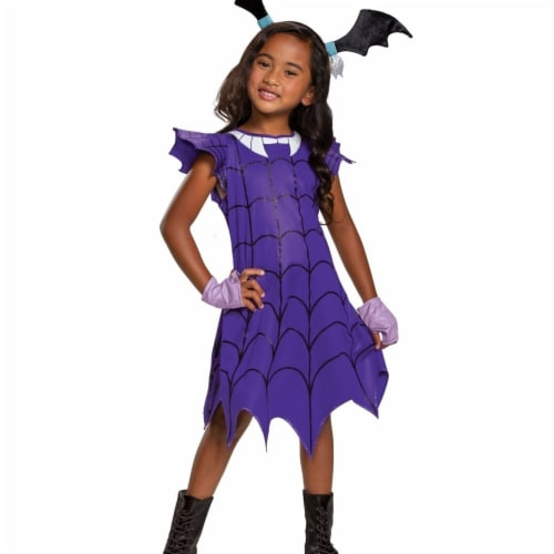 Disguise 403076 Girls Vampirina Ghoul Classic Child Costume, Small 4-6X Perspective: front