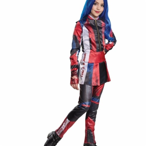 Disguise 403090 Girls Descendants 3 Evie Deluxe Child Costume, Large Perspective: front