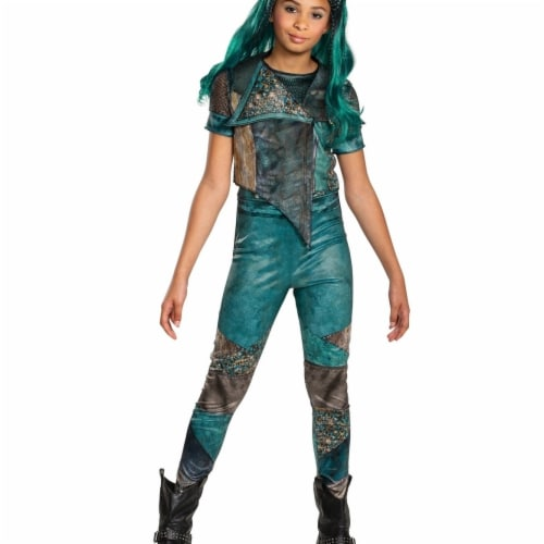 Disguise 403094 Girls Descendants 3 Uma Classic Child Costume, Large 10-12 Perspective: front