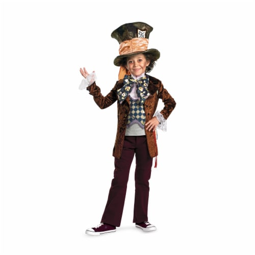 Costumes For All Occasions DG26628L Mad Hatter Deluxe Child 4-6 Perspective: front