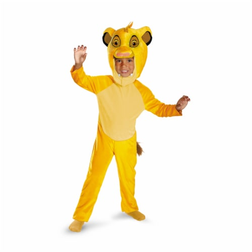 Costumes For All Occasions DG27135L Simba Classic 4-6 Perspective: front