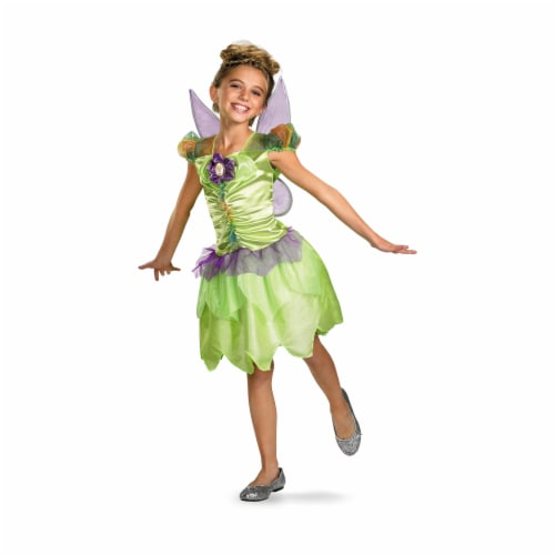 Costumes For All Occasions DG27170L Tinker Bell Rainbow 4-6 Perspective: front