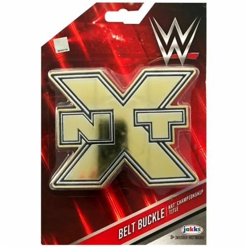 WWE Championship NXT Champion Belt Buckle Perspective: front
