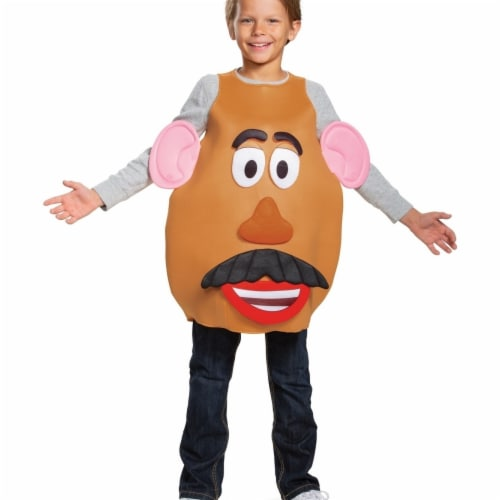 Disguise 403182 Boys Toy Story 4 Mrs. & Mr. Potato Head Deluxe Toddler Costume, Large Perspective: front