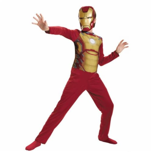 Costumes for all Occasions DG55638L Iron Man Mark 42 Child Basic 4 Perspective: front