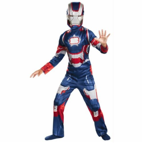 Costumes for all Occasions DG55646G Iron Patriot Child Classic 10-12 Perspective: front