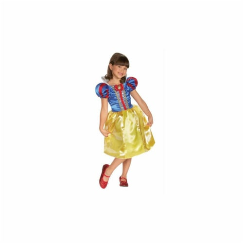 Disney Snow White Sparkle Classic Costume (7 - 8) Perspective: front